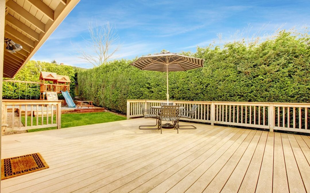 improve the safety of your deck so children and pets can enjoy it