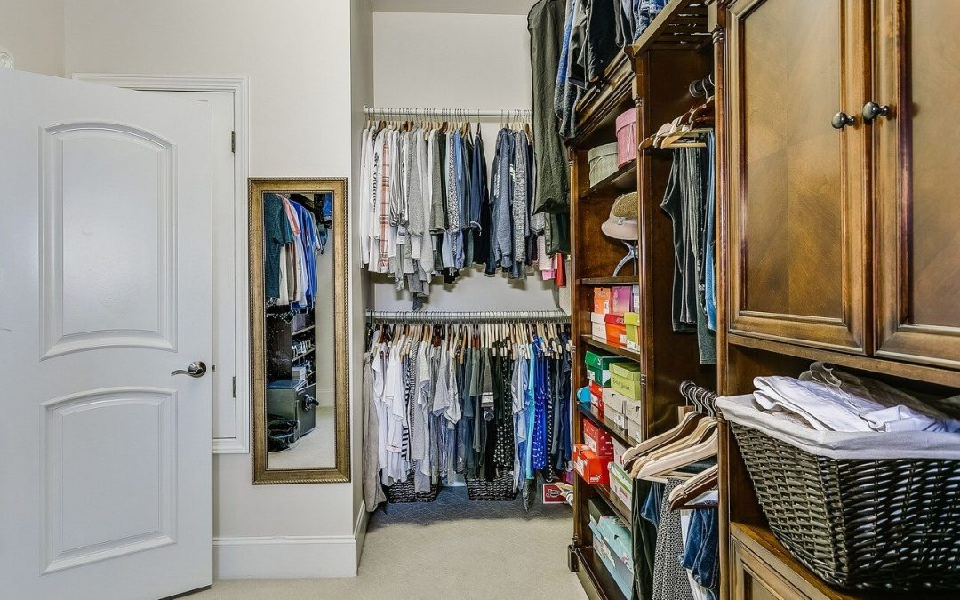 closet organization makes it easier to find what you need